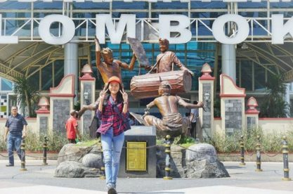 Olyvia Heranggi Kristy Saat Traveling Ke Lombok (Photo:imgrum.net/@olipict)