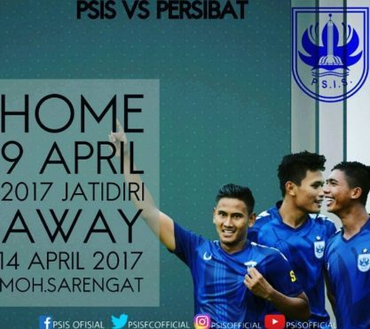 Laga Ujicoba PSIS vs PERSIBAT, 9 April 2017 (foto:ig/psisofficial)