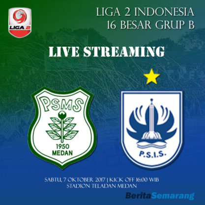 Live Streaming PSMS vs PSIS