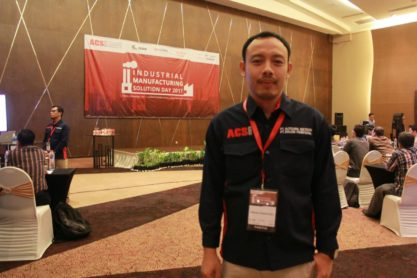 Bapak Adrian Dewantoro, Branch Manager ACS Group Semarang