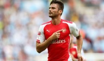 Striker Arsenal Olivier Giroud Yang Sedang On Fire